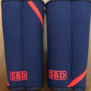 SBD Knee Sleeves - Navy/Red